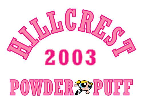 Dmgreer Llc Powderpuff Football Design